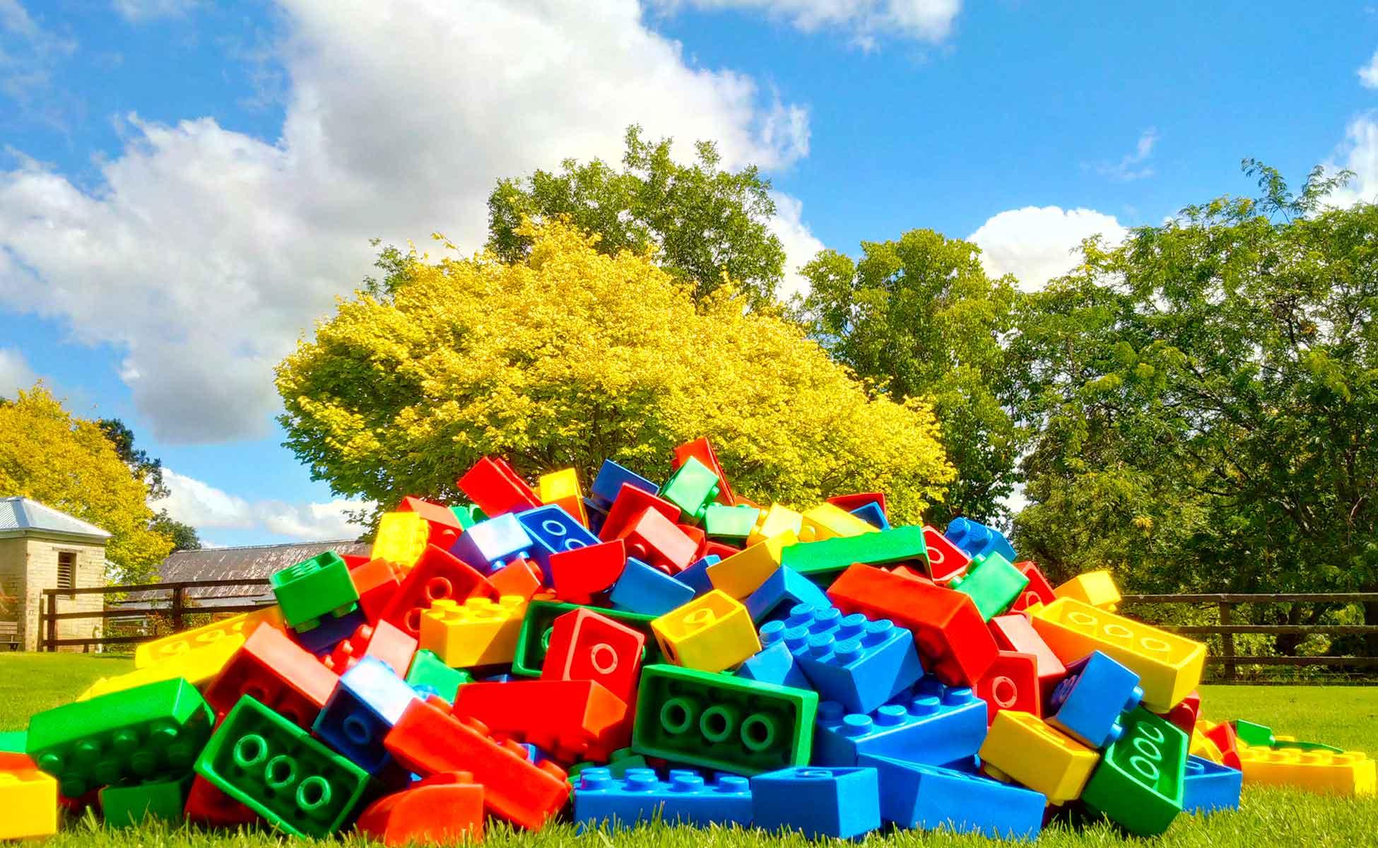 big lego outdoor